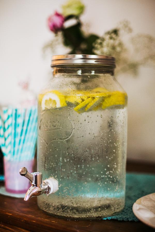 Limonade auf der Hochzeit