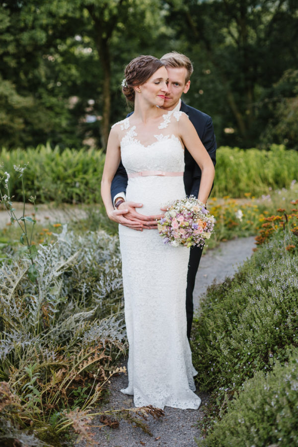 Brautpaarshooting Natur