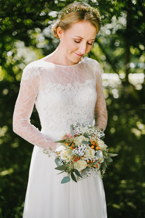 Braut Boho Brautstrauß
