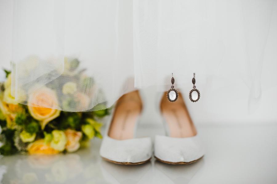 Brautschuhe Details