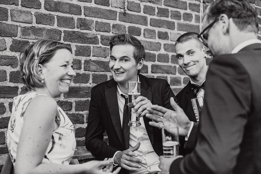 Hochzeitsgäste Reportage