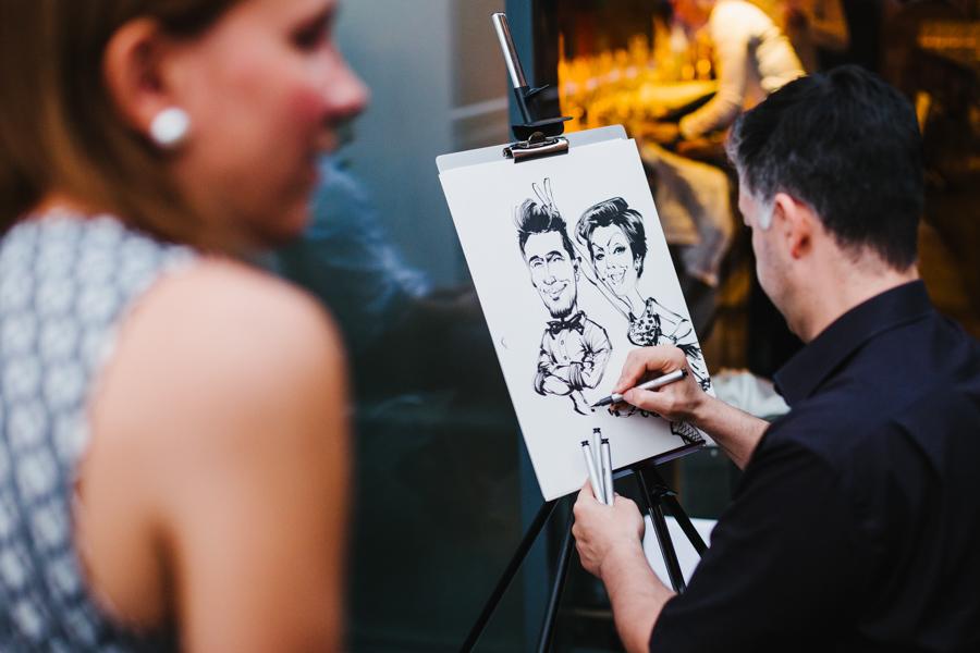 Hochzeitsreportage Maler
