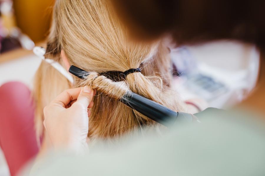 Braut Haarstyling