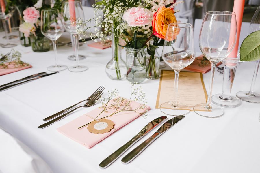 Hochzeit Vintage Tischdeko