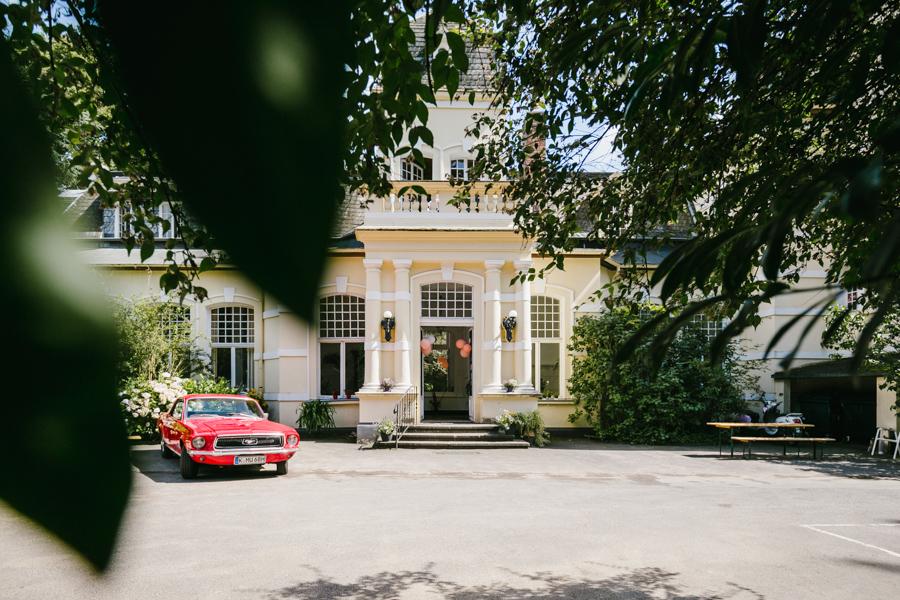 Hochzeit Villa