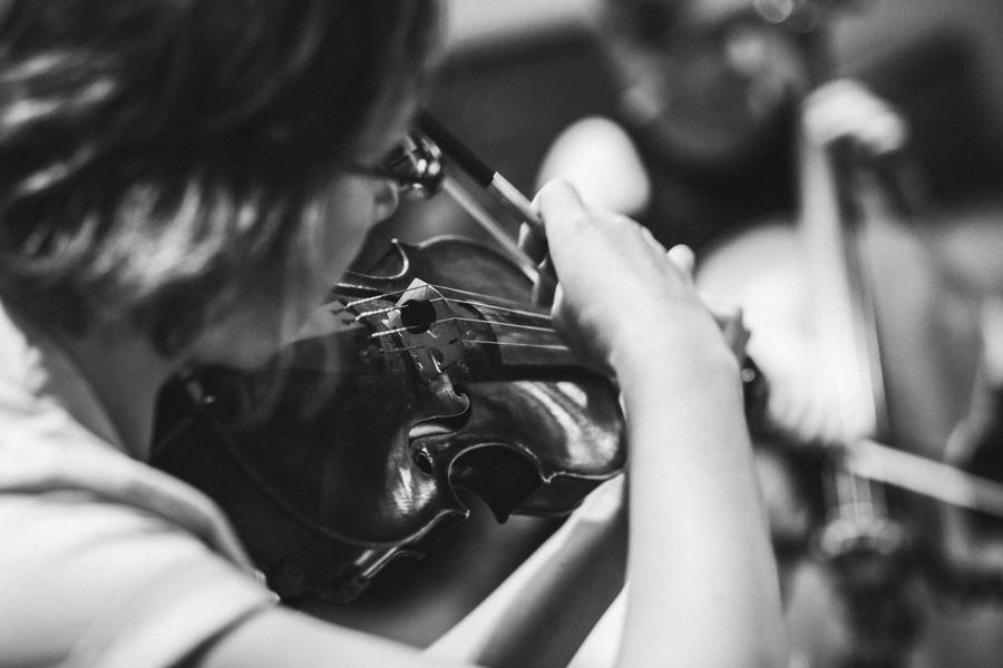 Trauung Geigenspielerin