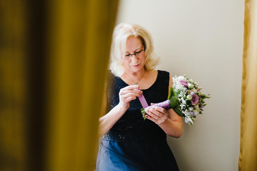 Brautstrauß binden