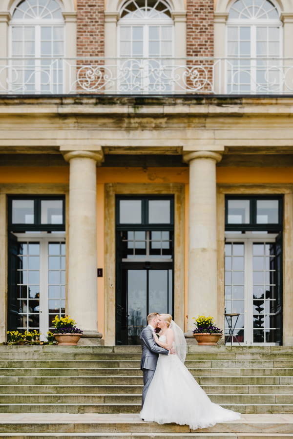 Brautpaarshooting Schloss