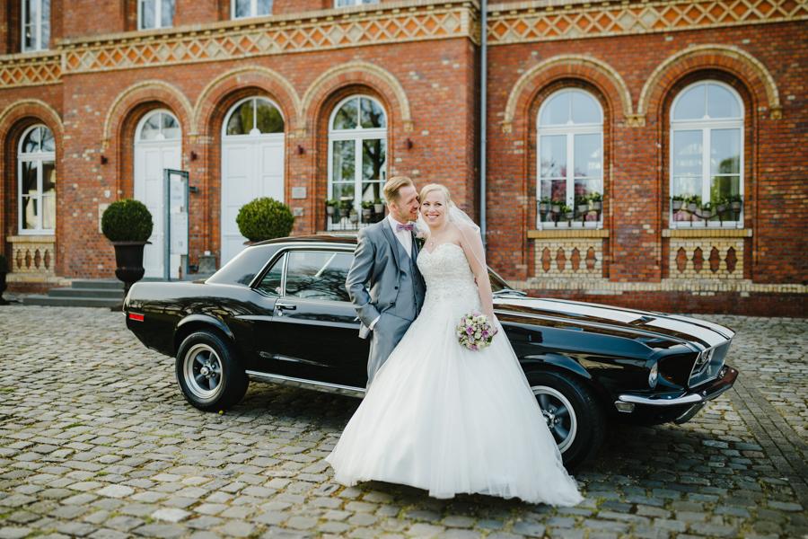 Brautpaarshooting Mustang