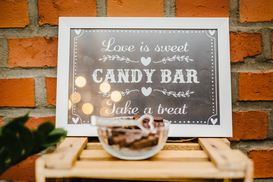 Candy Bar Rustikal