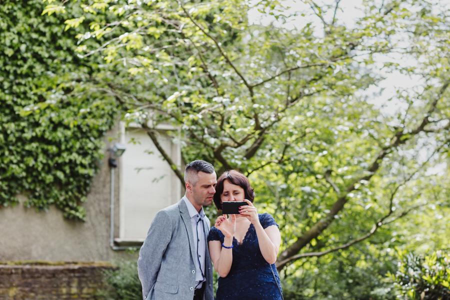 Fotoreportage Hochzeitsgäste