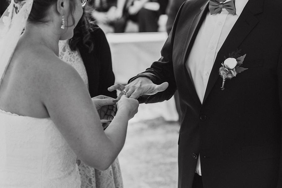 Trauung Brautpaar Ringwechsel