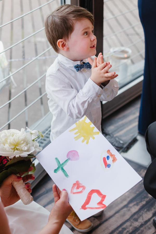 Fotoreportage Kind Hochzeitsgeschenk