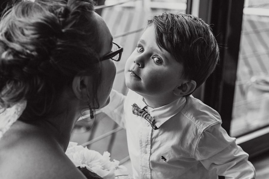 Fotoreportage Kind Braut