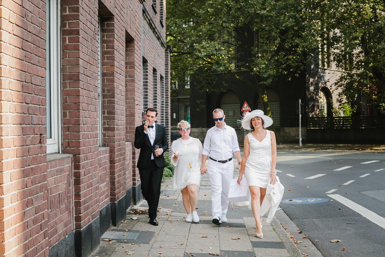 Hochzeit weiß