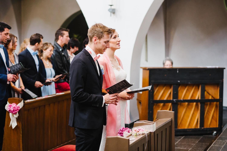 Kirche Trauung Gesang