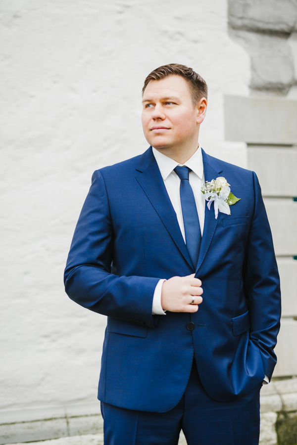 Bräutigam Portrait