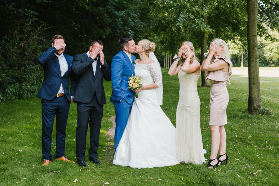 Trauzeugen Gruppenfoto