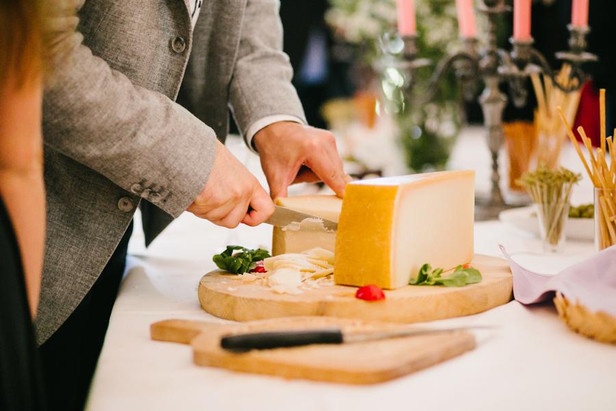 Hochzeitsbuffet Käseplatte