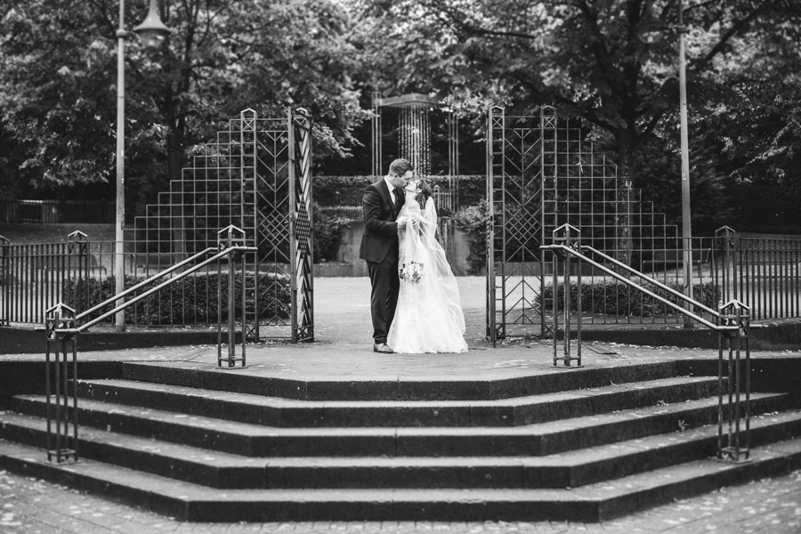 Totale Brautpaar