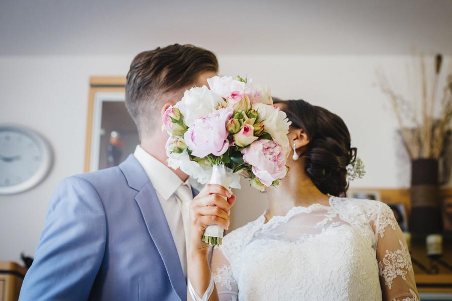 Brautstrauß Brautpaar
