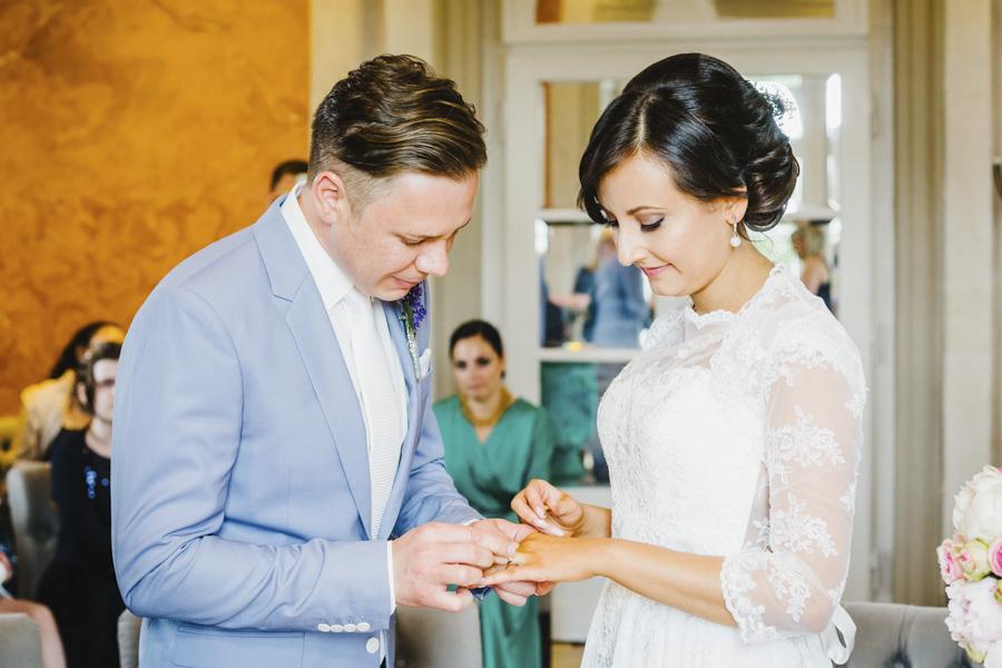 Hochzeitsringe Brautpaar