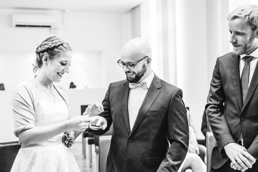 Ringübergabe Brautpaar