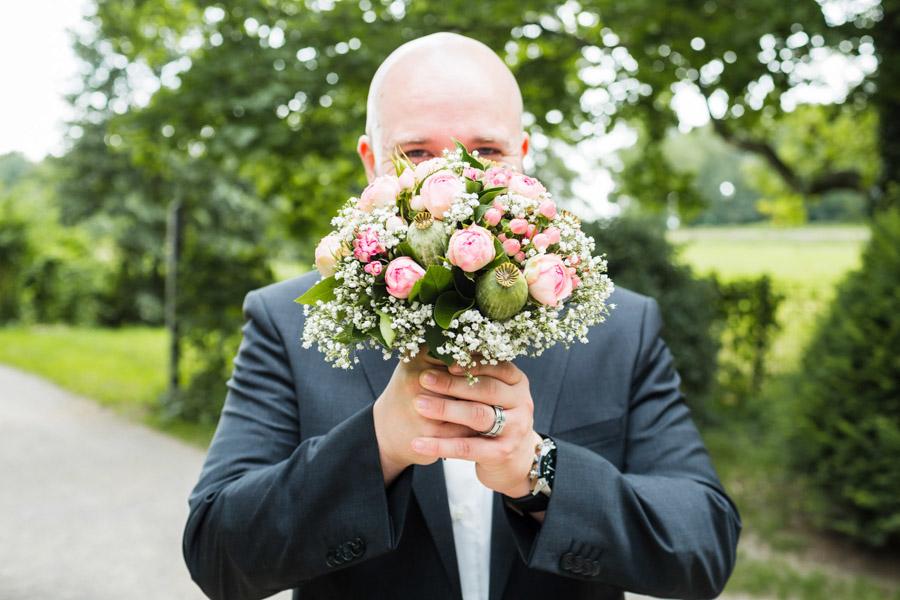Brautstrauß Bräutigam