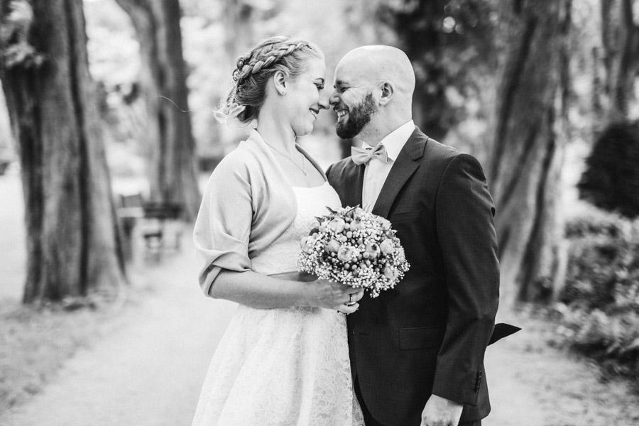 Naturshooting Brautpaar