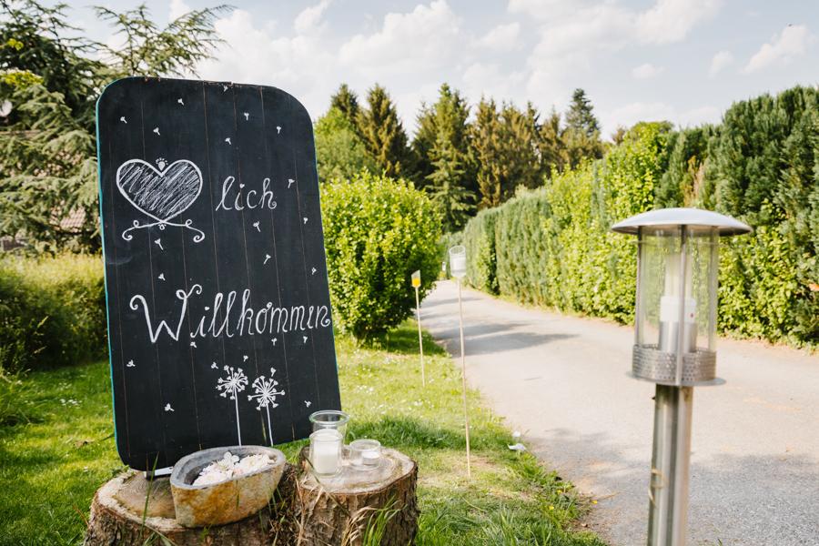 Hochzeit Eingang
