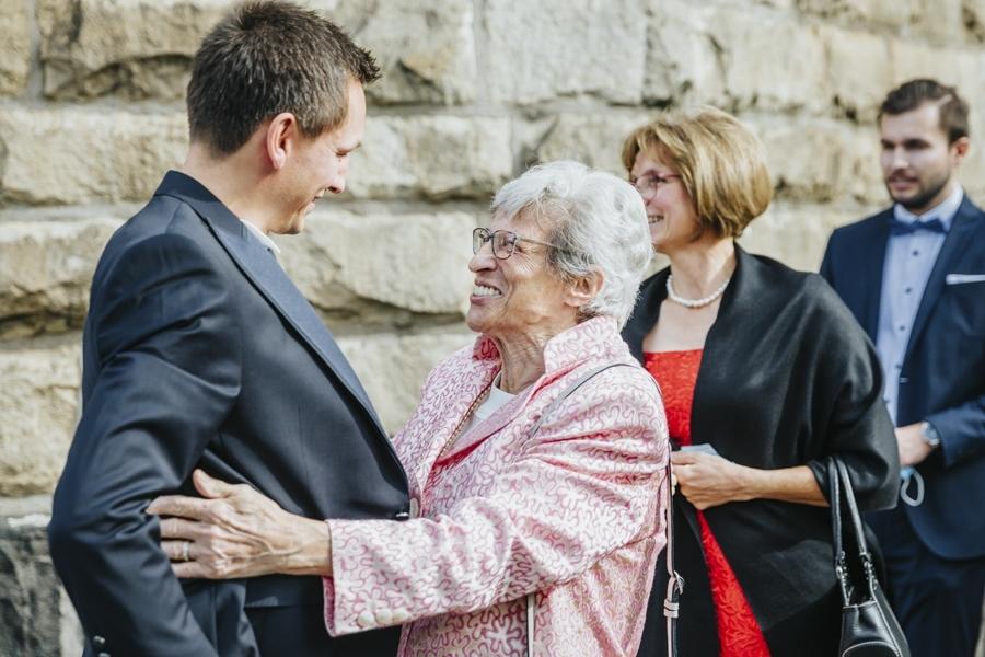 Begrüßung Oma